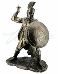 Bronze Leonidas King of Sparta Greek Sculpture