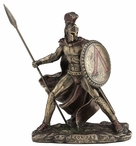 Bronze Leonidas King of Sparta Sculpture