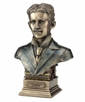 Bronze Nikola Tesla Sculpture