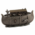 Bronze Noah's Ark Trinket Box