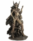 Bronze Norse Goddess Frigga Sculpture