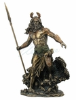 Bronze Oceanus Ruler of the Oceans Greek Sculpture