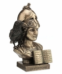Bronze The Raven Nevermore Pallas Athena Sculpture
