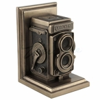 Bronze Vintage Camera Bookend