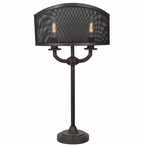 Brooks Metal Table Lamp with Metal Shade