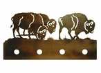 Buffalo Four Light Metal Vanity Light