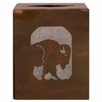 Buffalo Metal Boutique Tissue Box Cover