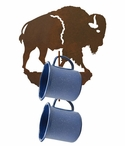 Buffalo Metal Mug Holder Wall Rack