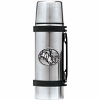 Bull Rider Stainless Steel Thermos with Pewter Accent