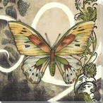 Butterfly Song I Wrapped Canvas Giclee Print Wall Art