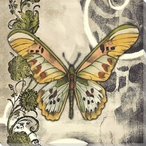 Butterfly Song II Wrapped Canvas Giclee Print Wall Art