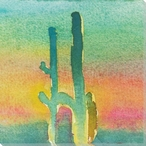 Cactus Slice I Wrapped Canvas Giclee Print Wall Art