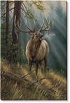 Calling All Challengers Elk Wrapped Canvas Giclee Print Wall Art