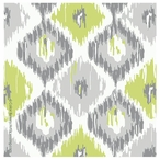 Calyx Ikat Absorbent Beverage Coasters by Color Bakery, Set of 12
