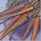 Carrot Medley Wrapped Canvas Giclee Print Wall Art