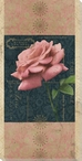 Carte Postale Roses 1 Wrapped Canvas Giclee Art Print Wall Art