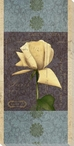 Carte Postale Roses 3 Wrapped Canvas Giclee Art Print Wall Art