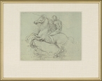 Cavaliere Matted and Framed Art Print Wall Art