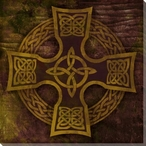 Celtic Cross 1 Wrapped Canvas Giclee Print Wall Art