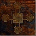 Celtic Cross 2 Wrapped Canvas Giclee Print Wall Art