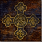 Celtic Cross 3 Wrapped Canvas Giclee Print Wall Art