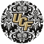 Central Florida Knights Pattern Beverage Coasters, Set of 8