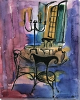 Chair Study 1 Wrapped Canvas Giclee Print Wall Art