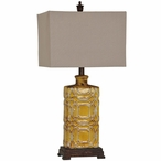 Chatham Ceramic Table Lamp with Linen Shade