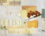 Cheese Wrapped Canvas Giclee Print Wall Art