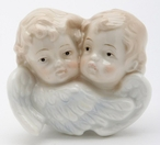 Cherub Plug-in Porcelain Night Lights, Set of 2