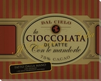 Cioccolata Con le Mandorle Wrapped Canvas Giclee Print Wall Art