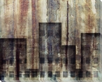 City Living Cityscape 1 Wrapped Canvas Giclee Print Wall Art