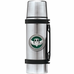 Claddagh Green Stainless Steel Thermos with Pewter Accent