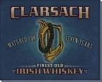 Clarsach Whiskey Wrapped Canvas Giclee Print Wall Art