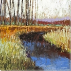 Clear Water Creek I Wrapped Canvas Giclee Print Wall Art