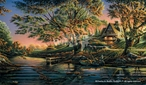 Close to Paradise Scenic Canvas Giclee Art Print Wall Art