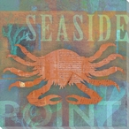 Coastal Catch Seaside Point Wrapped Canvas Giclee Print Wall Art