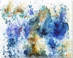 Color Burst 2 Wrapped Canvas Giclee Print Wall Art