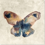 Colorful Butterfly 1 Wrapped Canvas Giclee Print Wall Art