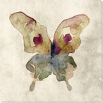 Colorful Butterfly 4 Wrapped Canvas Giclee Print Wall Art