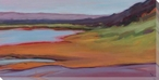 Colorful Shoreline Wrapped Canvas Giclee Print Wall Art