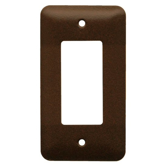 Commercial Grade Single Rocker Steel Switch Plate Cover