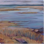 Companion Rocky Shore Diptych II Wrapped Canvas Giclee Print