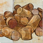 Corks Wrapped Canvas Giclee Print Wall Art