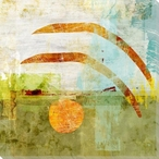 Counterbalanced 4 Wrapped Canvas Giclee Art Print Wall Art