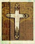 Cross 3 Wrapped Canvas Giclee Print Wall Art