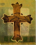 Cross 4 Wrapped Canvas Giclee Print Wall Art