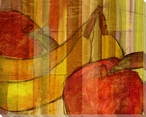 Cross-Cut Fruit Two Wrapped Canvas Giclee Print Wall Art