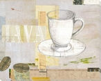 Cup of Java Wrapped Canvas Giclee Print Wall Art