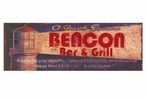 Custom Beacon Bar and Grill Vintage Style Metal Sign